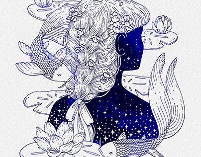 Zodiac Spot Illustrations