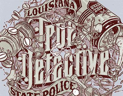 True Detective Lettering