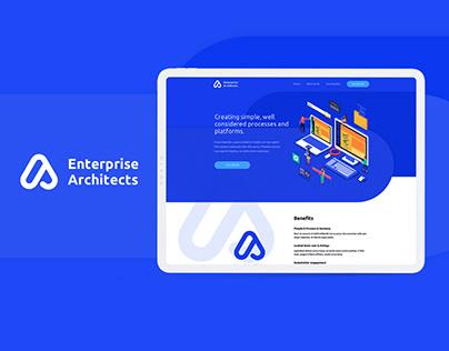 Enterprise Architects - Landing Page Design