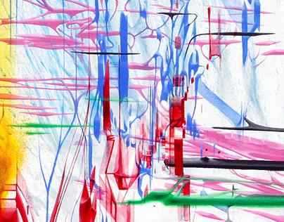 'EXUBERANCE' series of paintings