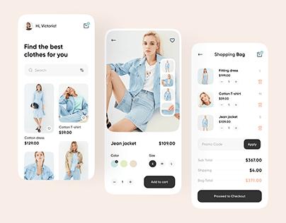 Fashion Store Mobile App