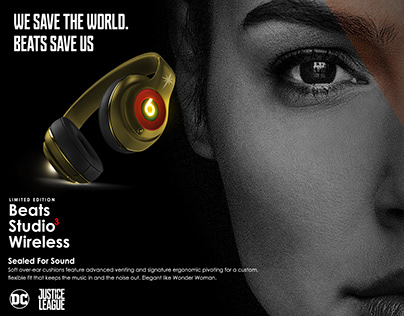 Beats by Dre- Magazine Ad