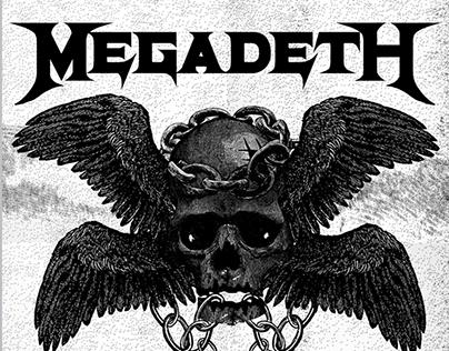 Póster Ilustrado - Megadeth