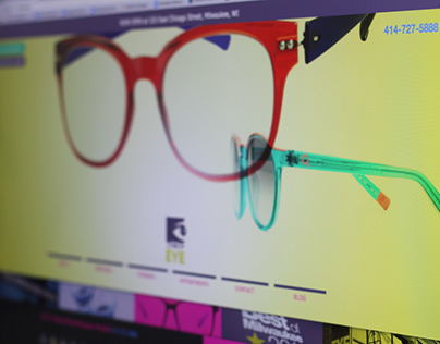 Optometrist Web Site Design