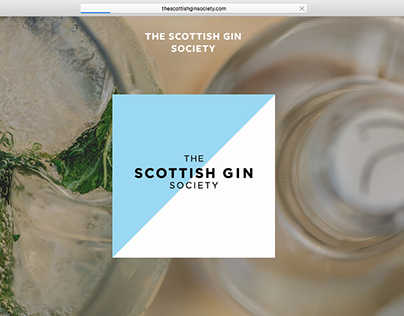 The Scottish Gin Society Brand Identity