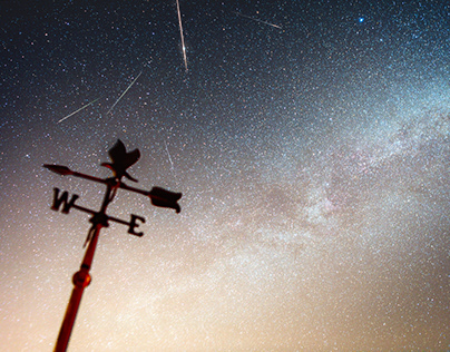 Creating a star trail time-lapse