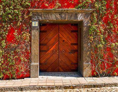 Doorways of San Miguel De Allende