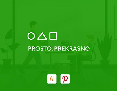 Prosto. Prekrasno / Иллюстрации для сайта