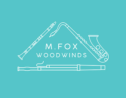 M.Fox Woodwinds - Logo