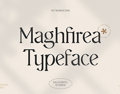 Maghfirea - Typeface