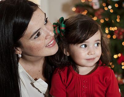Christmas Family Portrait - Photoshoot