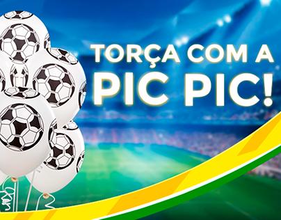 SOCIAL MEDIA I Copa do Mundo & Balões Pic Pic
