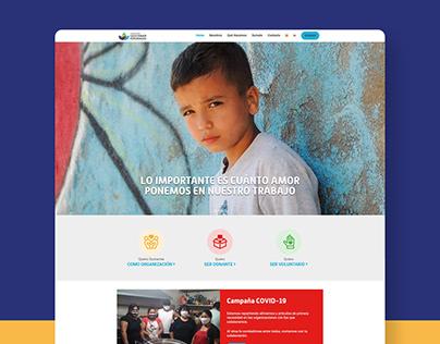Website - Fundación Gestionar Esperanzas