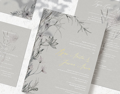 Various Wedding Invite Compilation
