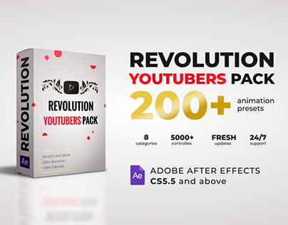 Revolution Youtubers Pack
