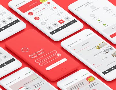 Moodnode - app, web and branding