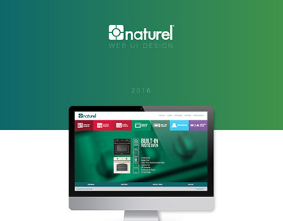 Naturel Ocak Web UI Design