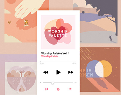 Worship Palette - Collab Project