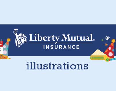 Liberty Mutual • Infographics & Illustrations