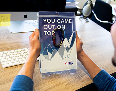 You came out on top! Employee welcome box - Onboarding