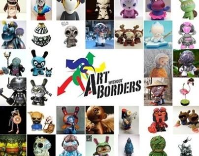 ZOMBIE BADASS  / ARTWITHOUTBORDERS VINYL SHOW