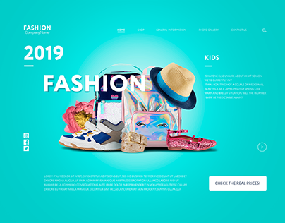 Fashion clothesmockup for women, men and kids.