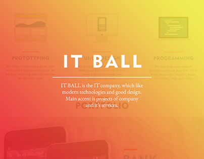 Web site for IT Ball