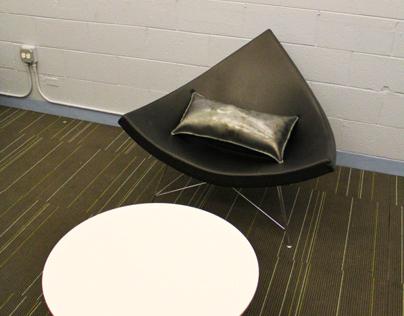 Steel Pillow Sculpture