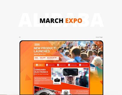 Alibaba. com MARCH EXPO Home page
