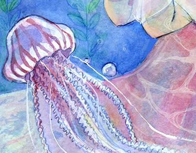 「花笑み」illustrations