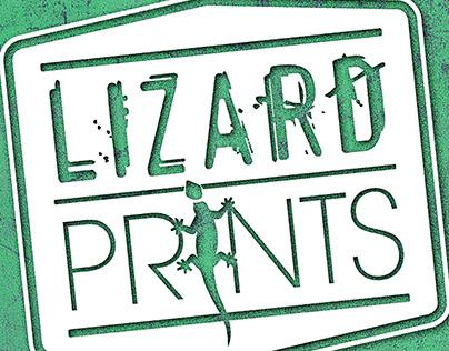 Lizard Prints Logo Design