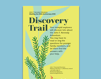 Family discovery trail for John F Kennedy Arboretum