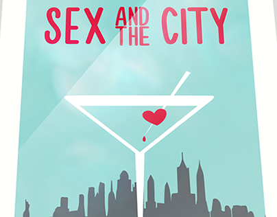 "Alternative poster for ""Sex and city"" series"