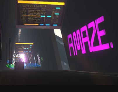 The A. MAZE VR Train Station