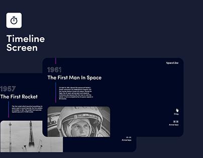 XD DCC: Timeline Screen