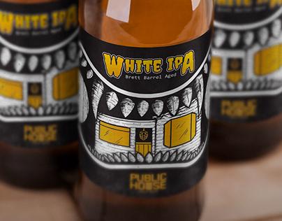 Beer Label Design - Public House