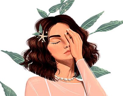 ILUSTRAÇÃO - Intimate Soul para Luana Caetano
