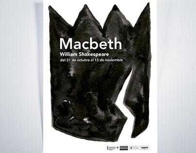 Macbeth – Diseño de cartel