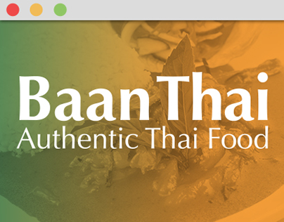 Baan Thai - Website