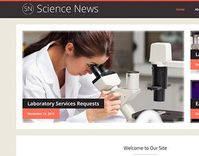 Science News WordPress Theme