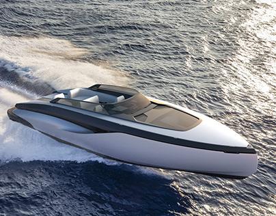 Luxury motor yacht concept 49ft/15m