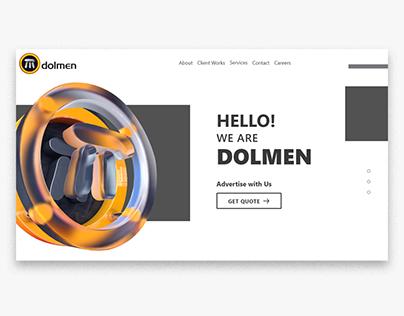 Dolmen Ad & Business Card