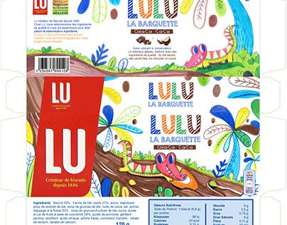 Lulu La Barquette Packaging