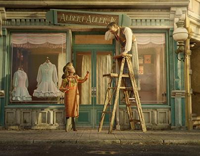 Roof Studio - Rosemarie's Life 3D model & animation