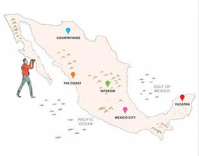 Condé Nast Traveler x Mexico Tourism Board iPad App