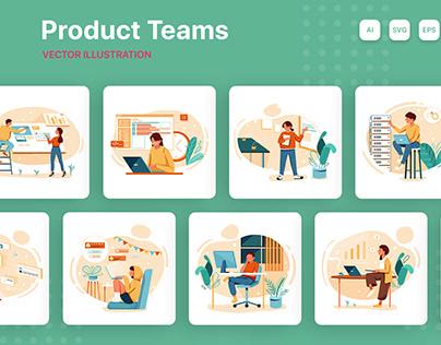 M184_Product Teams Illustrations