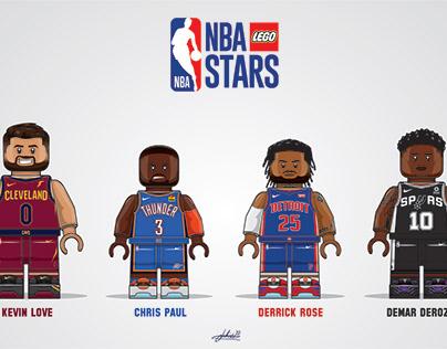 LEGO NBA: Ageing Stars