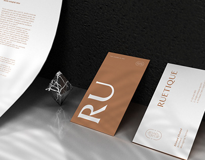 Ruetique - Brand identity