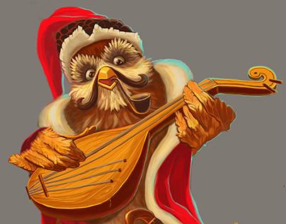 Ukrainian owl