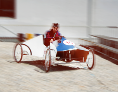 SILVER ARROW - Pedal Car